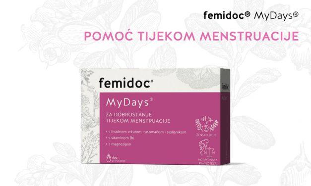 Na tržište je stigao femidoc My Days – prvi biljni preparat koji ublažava simptome PMS-a